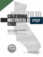 2010 CA Historical Bldg