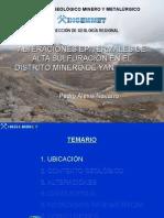 alteracionesepitermalesdealtasulfuracineneldistritodeyanacocha-120411094429-phpapp02