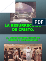 La Resureccion de Cristo