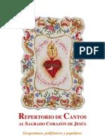 REPERTORIO DE CANTOS AL SAGRADO CORAZÓN DE JESÚS. Gregorianos, polifónicos y populares
