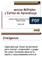 ANEXO 1 Inteligencias Multiples