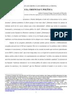 Ciencia Creencias y Politica Andres Carmona Campo