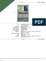 Steven Connor, Postmodernist Culture