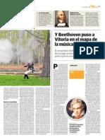 Martina Guerrillera, la tercera novela de AScension Badiola -parte 2, junto a Sinfonía Guerrera de Iñigo Bolinaga y la novela que habla de la obra que compuso Beethoven para la Batalla de Vitoria.