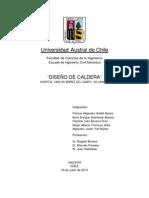 INFORME CALDERA (indice arreglado) Ing. Civil Mecánica UACh 2013
