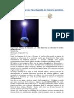 Los Sellos Solares y la activación de nuestra genética de Luz