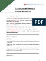 Apostila Jornal Impresso