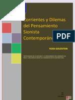 Goldstein Yossi - Corrientes Y Dilemas Del Pensamiento Sionista