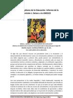 LOS 4 PILARES DE LA EDUCACIÓN CONTEMPORÁNEA