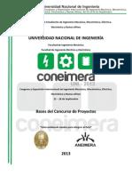 Bases Del Concurso de Proyectos XX CONEIMERA