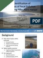 Pillar Point Harbor Fecal Pollution Study