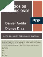 Ejercicios de Distribuciones