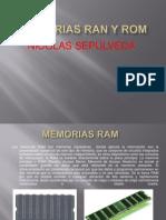 Memorias Ran y Rom