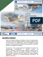 Presentaciòn de Print Solutions 2,013