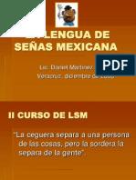 LENGUA DE SEÑAS MEXICANA