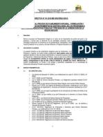 Directiva N° 04-2010-ME-GRA-DREA-DGI-D. Normas para el Proceso de Planeamiento Integral, Formulación y Evaluación de los Instrumentos de Gestión en las Instituciones Educativas