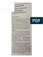 Articolo Gazzetta 2013