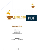 Coffee & Bookshop Business Plan