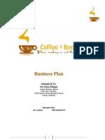 Coffee & Bookshop Business Plan