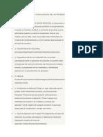 Condiciones Fisicas y Psicologicas de Las Pruebas Psicologicas