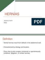 Ventral HerniasFinal