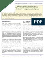 Junio 2006. Derecho a la Participacion Politica Indígena