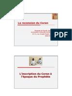 4-La Recension Du Coran