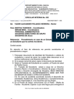 IEALPA20130617 - 035 Traslado de Estudiante Al Puesto de Salud