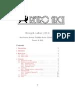 Retroarch Manual