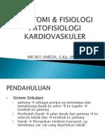 Anfis Dan Patofisiologi Cardivaskuler September 2012