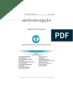 Livro - Anticoncepção - Manual de Orientação - Febrasgo 2004