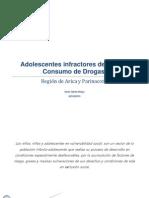 Adolescentes Infractores de Ley Con Consumo de Drogas