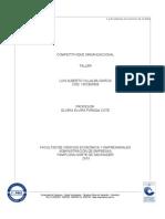 Forcompettitividad Organizacional Taller