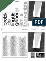 BENVENISTE - Problemas de lingüística general I.pdf