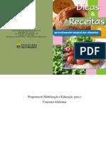 Cartilha de Dicas e Receitas Para Aproveitamento Integral Dos Alimentos - Prefeitura de BH