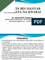 Wajibcin Bin Hanyar Salaf