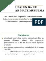 Mace Musulma a Tsakanin Jiya Da Yau