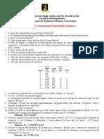 CM Lista3 (Defeitos)