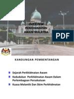 Overview Perkhidmatan Awam