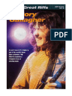 Rory Gallagher Great Riffs
