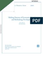 Rethinking Development - Maio 2012 -World Bank -WPS6040