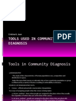 Tools Used in Community Diagnosis