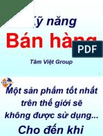 Ky Nang Ban Hang Hieu Qua - Tam Viet