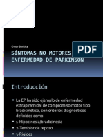 Sintomas No Motores en La Enfermedad de Parkinson