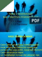 Bab 1 Institusi Pemerintahan