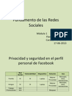 Fundamento de Las Redes Sociales Modulo 1