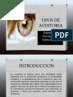 UAM Tipos de Auditoria