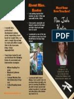 brochure front- 2013
