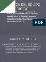 CINETICA DEL SÓLIDO RIGIDO