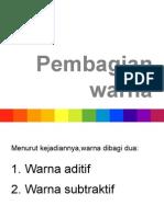 Pembagian warna